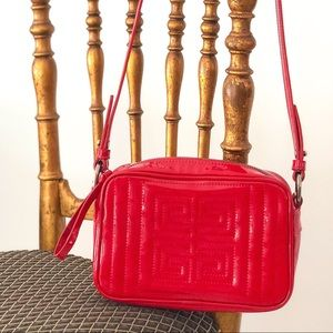 Givenchy Crossbody bag in Cherry Red PVC
